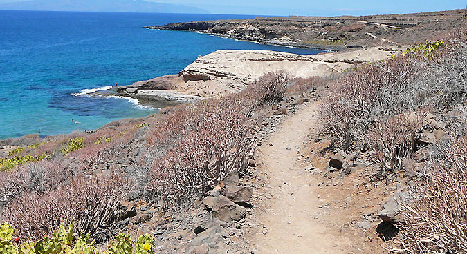 Playa paraiso en tenerife
